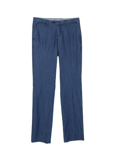 Fabrika Comfort Fabrika Comfort Koyu Mavi Erkek Chıno Pantolon Mavi